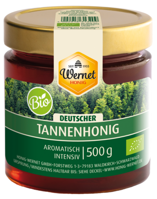 german organic fir honey