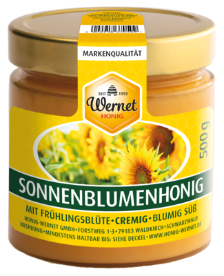 creamy sunflower honey