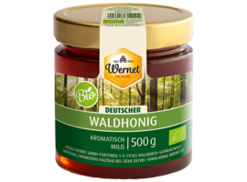german organic forest honey