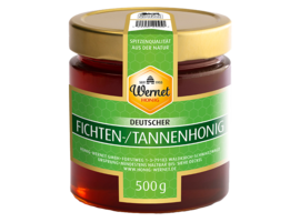 german spruce and fir honey