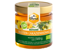 german organic acacia honey